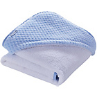 more details on Clair de Lune Honeycomb Hooded Towel - Blue.