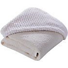 more details on Clair de Lune Honeycomb Hooded Towel - Cream.