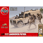 more details on Airfix British Forces Land Rover Patrol 1:48 Scale Model Kit