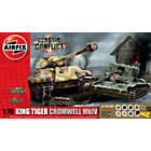 more details on Airfix Classic Conflict Cromwell Tank and King Tiger Tank.