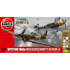 more details on Airfix Dogfight Doubles Messerschmitt and Spitfire Model Kit