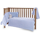 more details on Clair de Lune Honeycomb 3 Piece Cot/Cot Bed Set - Blue.