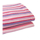 more details on Clair de Lune Fun and Funky Pram Blanket - Sherbet Pink.