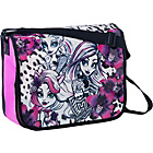 more details on Monster High Messenger Bag - Black, Pink and Purple.