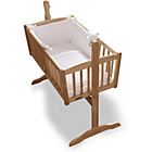 more details on Clair de Lune Marshmallow 2 Piece Rocking Crib Set - White.