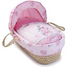 more details on Clair de Lune Palm Moses Basket - Lottie and Squeek.