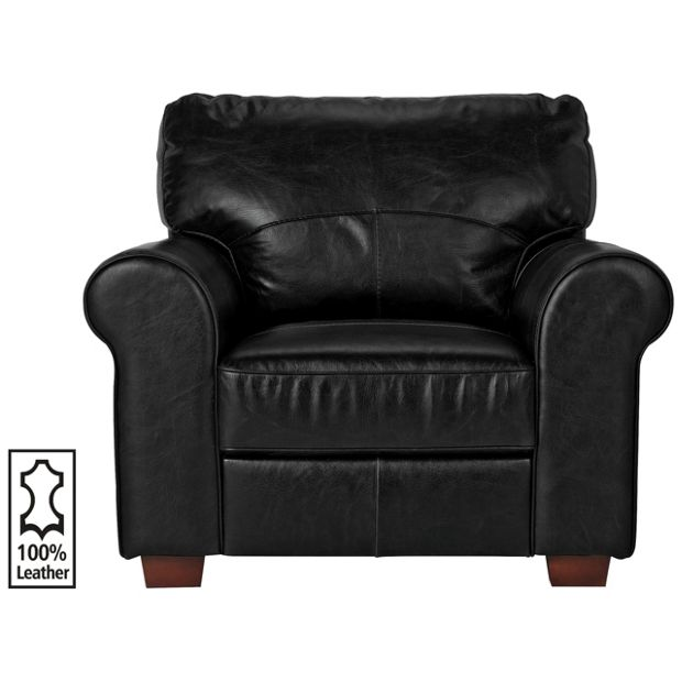 Buy Heart Of House Salisbury Leather Chair Black At Your Online Shop For
