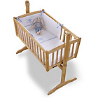 more details on Clair de Lune Stardust 2 Piece Crib Set - Blue.