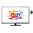 more details on ALBA 24' HD Ready LED TV/DVD Combi - Silver.