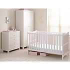 more details on Saplings Kitty Nursery Furniture Set - White and Pink.