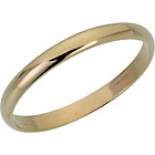 more details on 9ct Gold D-Shape Wedding Ring.