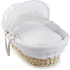 more details on Clair de Lune Vintage Wicker Moses Basket - Natural.
