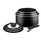more details on Tefal Ingenio 7 Piece Saucepan Set with Glass Lids.