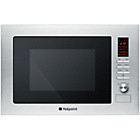 more details on Hotpoint MWH222.1X 24L Microwave with Grill - S Steel.