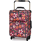 more details on IT Luggage World's Lightest Small 4 Wheel Suitcase - Floral.