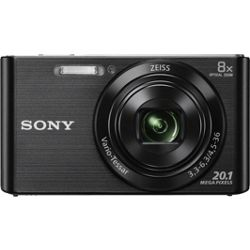 Sony Cybershot DSC-W830 20MP HD Digital Camera with 8x Optical Zoom