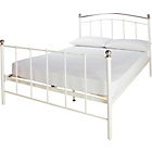 more details on Witon Double Bed Frame - Ivory.