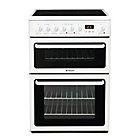 more details on Hotpoint HAE60P Double Electric Cooker - White.