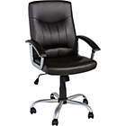 more details on Elliot Gas Lift Office Chair - Brown.