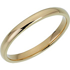 more details on 9ct Gold Court Shape Wedding Ring.