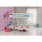 more details on Ellery Single White Bunk Bed Frame with Ashley Mattress.