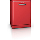 more details on Swan SDW7040RN Retro Dishwasher - Red.