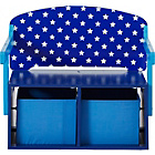 more details on Stars Convertible Desk & Chair - Blue and White.