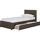 more details on Hygena Heston Single Bed Frame - Chocolate.
