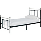 more details on Collection Eversholt Single Bed Frame - Black.