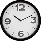 more details on ColourMatch Black Cased Wall Clock.