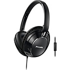 more details on Philips FX5MBK/00 Headphones With Microphone - Black.