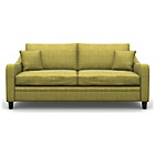more details on Heart of House Newbury Large Fabric Sofa - Olive.