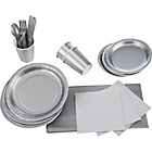 more details on Solid Colours Party Kit - Silver.