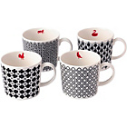 more details on Royal Doulton Mixed Accents Mugs Set of 4.