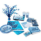 more details on Glitz Party Pack For 32 - Blue.