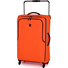 more details on IT Luggage World's Lightest Large 4 Wheel Suitcase - Red.