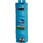 more details on 6 Shelf Hanging Storage Unit - Blue