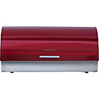 more details on Morphy Richards Accents Stainless Steel Bread Bin - Red.