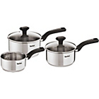 more details on Tefal Comfort Max 3 Piece Stainless Steel Pan Set.