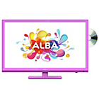 more details on ALBA 24' HD Ready LED TV/DVD COMBI PINK