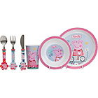 more details on Peppa Pig 6 Piece Dinner Set.