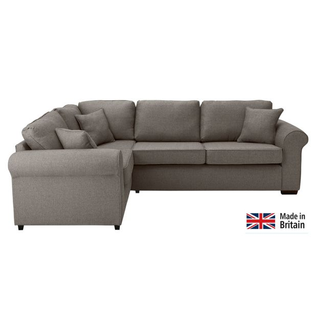 Buy Collection Erinne Fabric Left Hand Corner Sofa