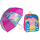 more details on Peppa Pig Backpack and Dome Umbrella.