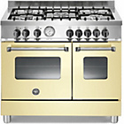more details on Bertazzoni AD905MFECRE Master Dual Fuel Range Cooker - Cream