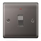 more details on Masterplug Double Pole LED Light Switch - Black Nickel.