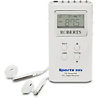 more details on Roberts Sports R995 FM Radio - White.