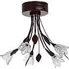 more details on Heart of House Mya 5 Light Ceiling Fitting - Chocolate.
