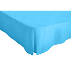 more details on ColourMatch Sky Blue Valance Sheet - Double.