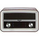 more details on Bush Classic FM Radio with BT - Brown