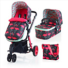 more details on Cosatto Giggle 2 Travel System - Flamingo Fling.